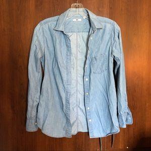 🌻BOGO Uniqlo Button Down Shirt S (Fits like XS)